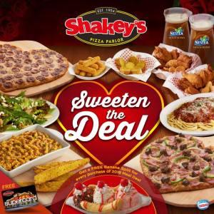 shakeys sweeten the deal