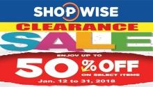 shopwise clearance sale FI