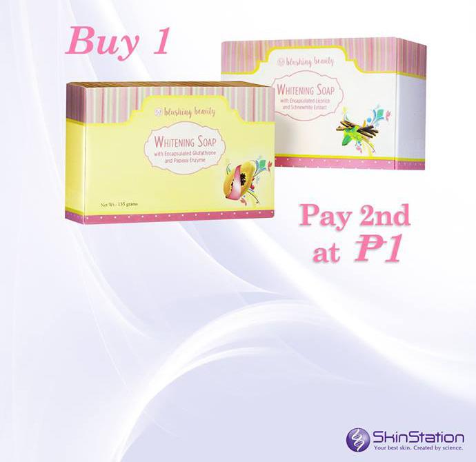 SkinStation Blushing Beauty Whitening Soap piso sale