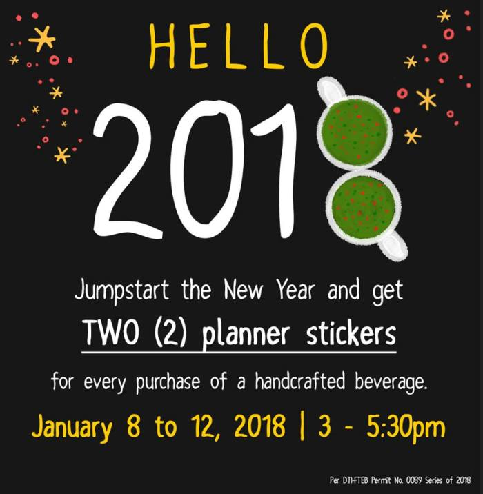 starbucks 2 planner stickers