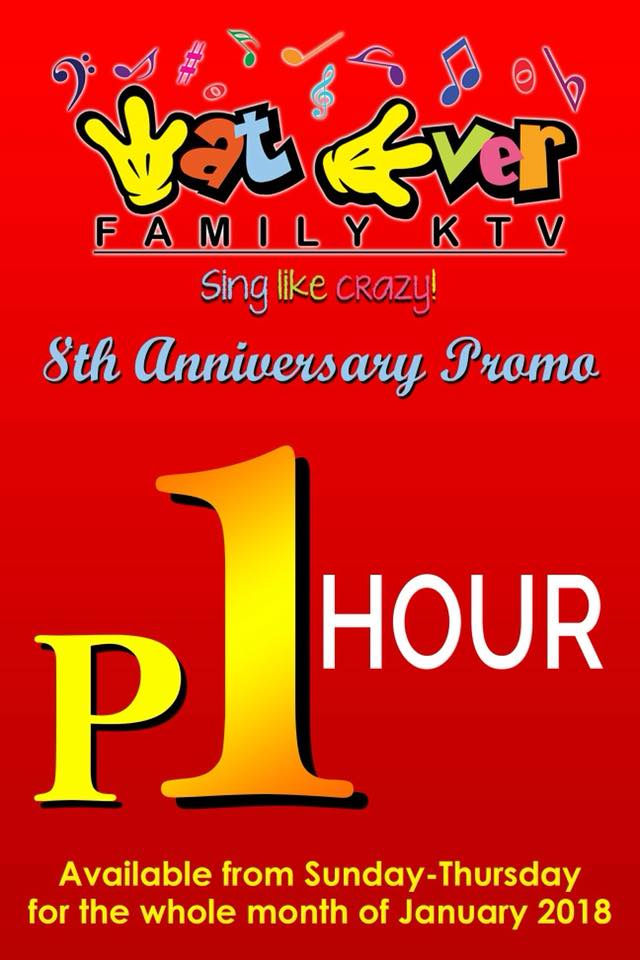 Wat Ever Family KTV 8th anniversary promo