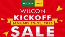 WilconDepot kickoff sale