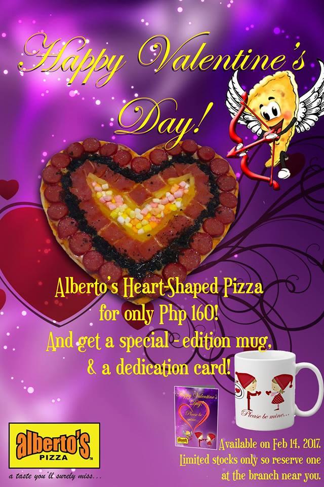 Albertos Pizza CDO Valentines Day Promo