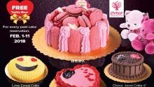 Amor Bakery free teddy bear FI