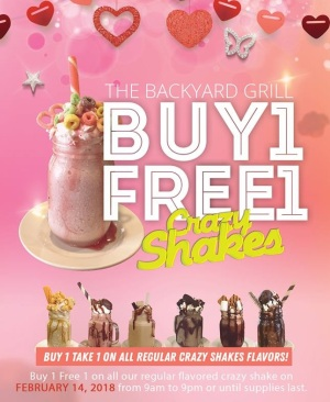 backyard grill buy 1 free 1 crazy shakes compressed