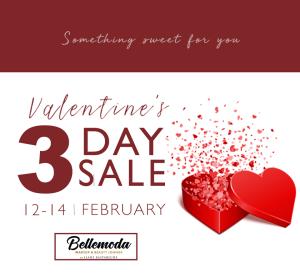 Bellemoda Valentines 3day sale
