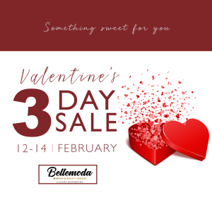 Bellemoda Valentines 3day sale