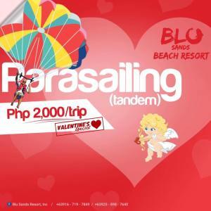 Blu Sands Parasailing Valentines Special