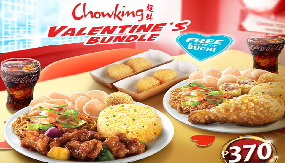 Chowking Valentine S Bundle Cdo Promos