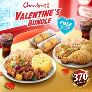 Chowking Valentine's Bundle