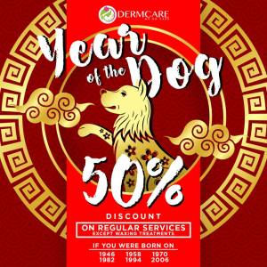 Dermacare 50% Discount Chinese New Year Promo