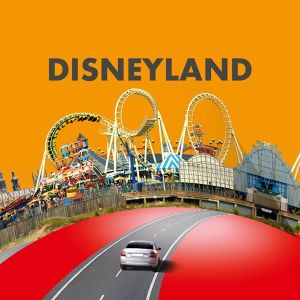 Disneyland Choose Your Dream Adventure from Shell