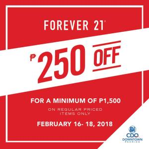 forever 21 greatDowntownSale