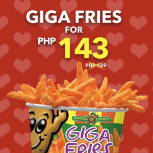 giga fries for 143