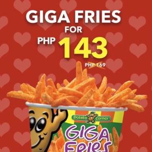 giga fries for 143