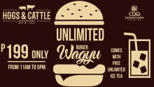 hogsAndCattle unlimited Wagyu Burger FI