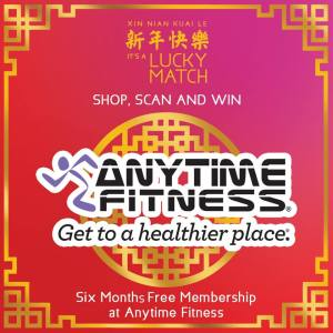 It's a Lucky Match Anytime Fitness