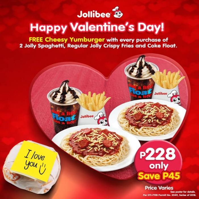 jollibee promotion Visit us at the following outlets: jollibee lucky plaza level 6 (#06-48a) and  basement 1 (# b1-038) promo period is till 22 oct 2015 hurry while stocks last.