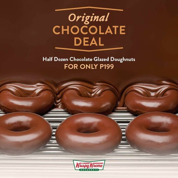 Kirspy Kreme Original Chocolate Deal