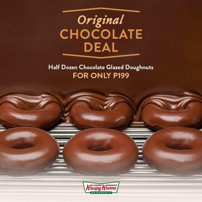 Kirspy Kreme Original Chocolate Deal