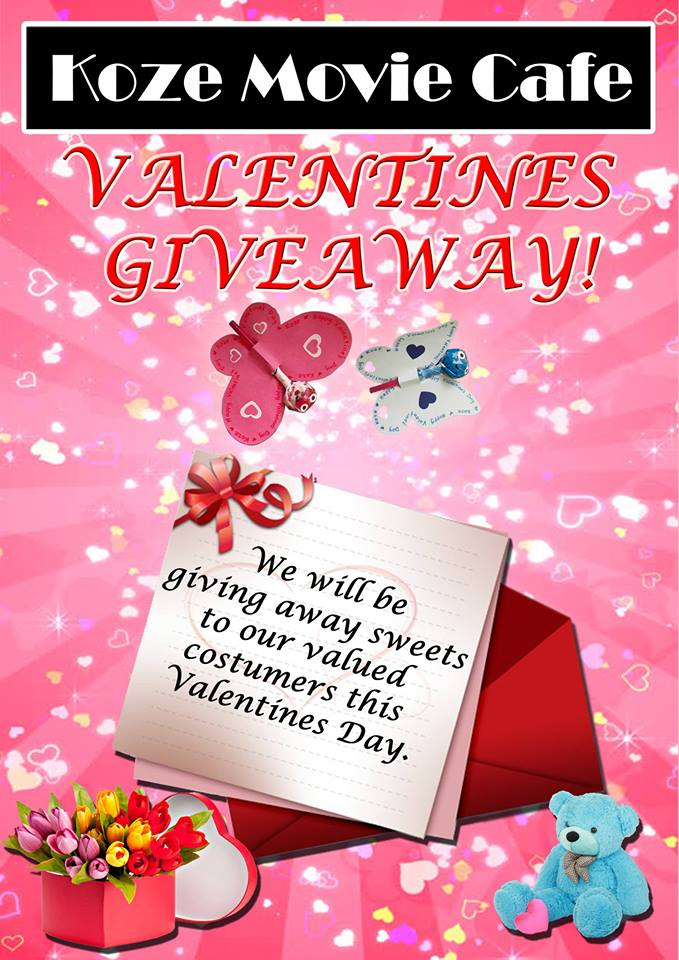 Koze movie cafe valentines giveaway