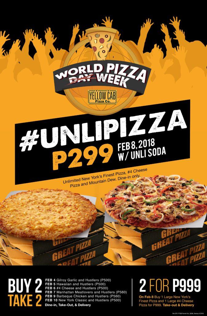 YellowCab UnliPizza