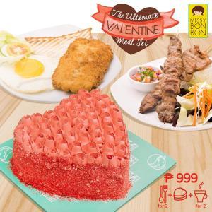 missybonbon ultimate valentine meal set