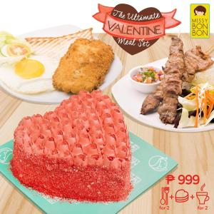 missybonbon ultimate valentine meal set