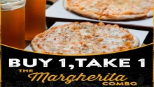 Pizza Republic Buy 1 Take 1 on the Margherita Combo FI