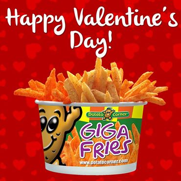 potato corner valentines day prof pic