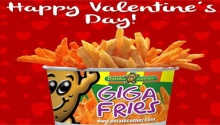 potato corner valentines day promo FI