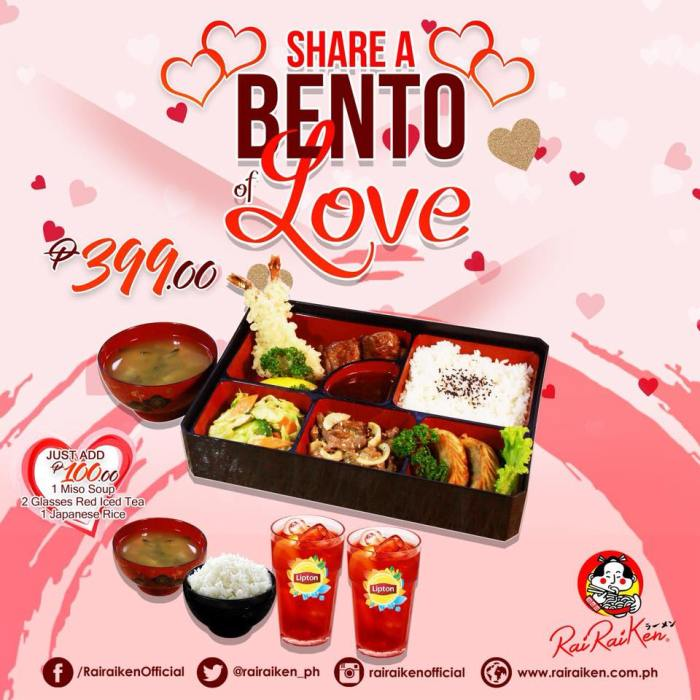 Rairaiken Share a Bento of Love