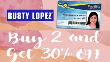 Rusty Lopez February Promos