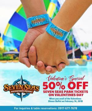 seven seas 50percent off valentines special