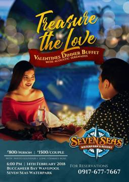 seven seas tresure the love valentines dinner buffet