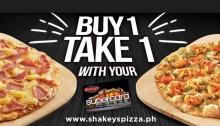 Shakeys buy 1 take 1 Louisiana Shrimp Pizza FI