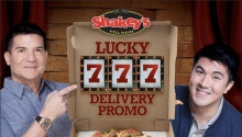 shakeys lucky 7777 delivery promo FI