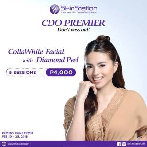 Skinstation Colla White Facial Great Downtown Sale