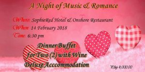 Sophie Red Hotel and Onshore Restaurant Dinner Buffet