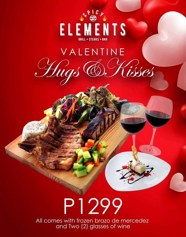 spicy elements valentine's day