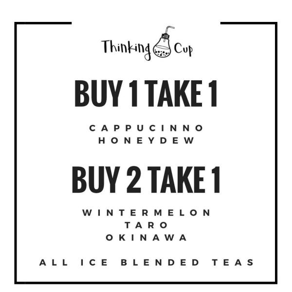 Thinking Cup Buy 1 Take 1