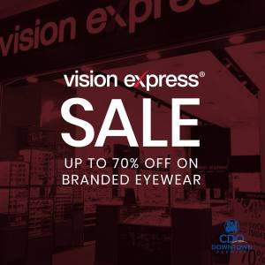 visionExpress Great Downtown Sale