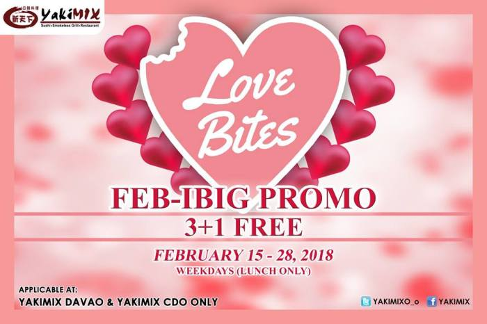 Yakimix CDO FEB-IBIG Promo