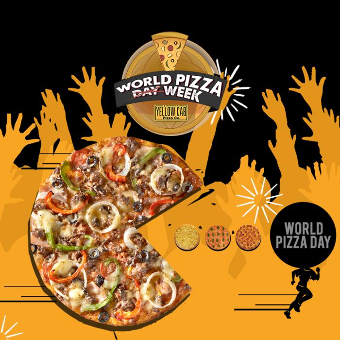 Yellow Cab World Pizza Week
