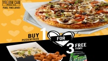 Yellow Cab Buy 1 For 3