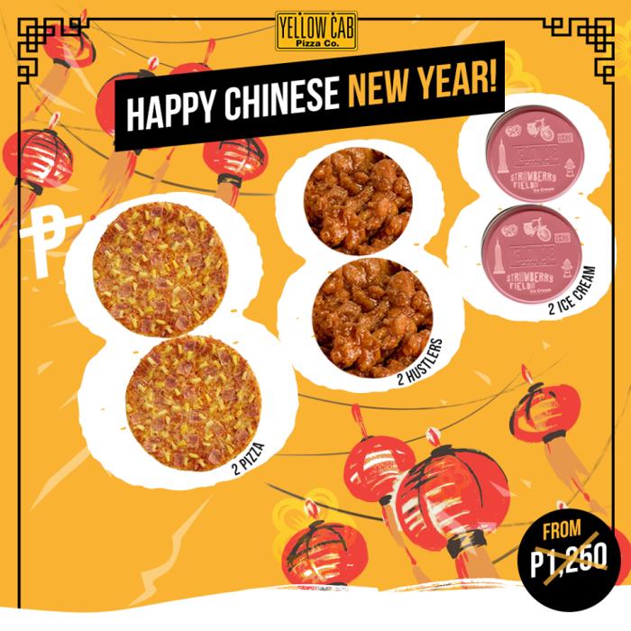 yellowCab Chinese New Year Promo