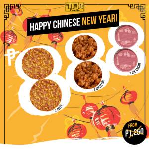Yellow Cab Chinese New Year Promo