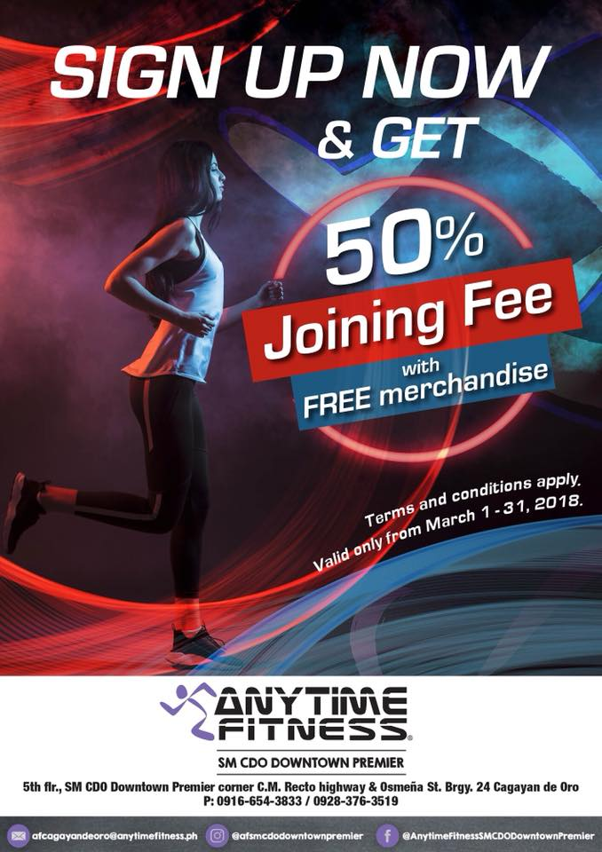 anytime fitness sign up bonus