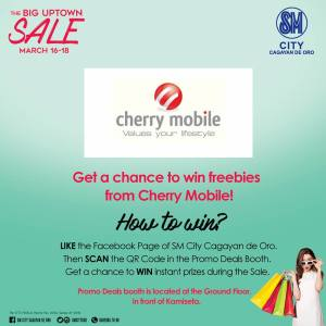 like scan and win cherry mobile