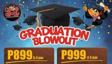 choobi choobi graduation blowout FI